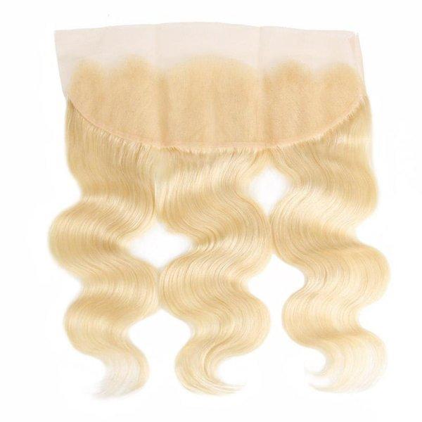 Heaven Sent Hair 613 Blonde 13x4 Lace Frontal Virgin Human Hair
