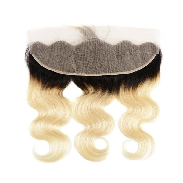 1B/613 Blonde Body Wave 13x4 Lace Frontal