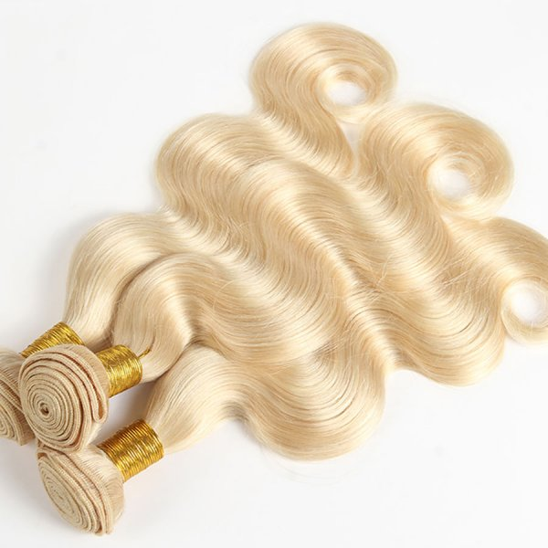 613 Blonde Hair Extensions Body Wave
