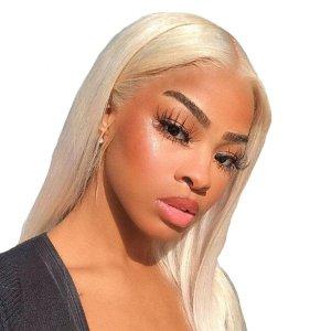 Blonde European Straight Hair Extensions