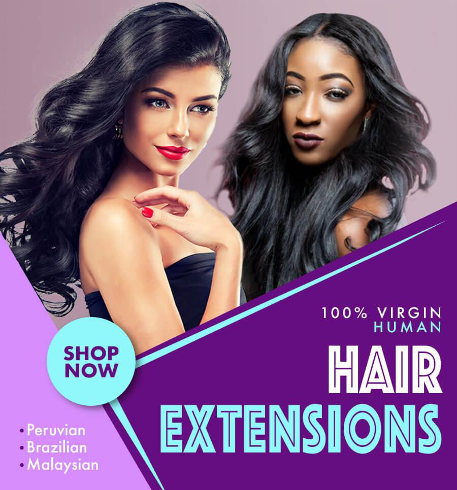 Shop Virgin Human Hair Extensions