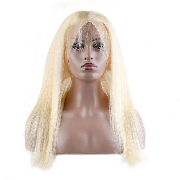 613 Blonde 360 Lace Frontal 100% Virgin Human Hair