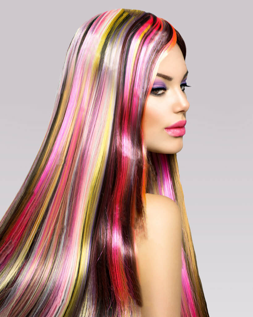 Custom Colored Extensions