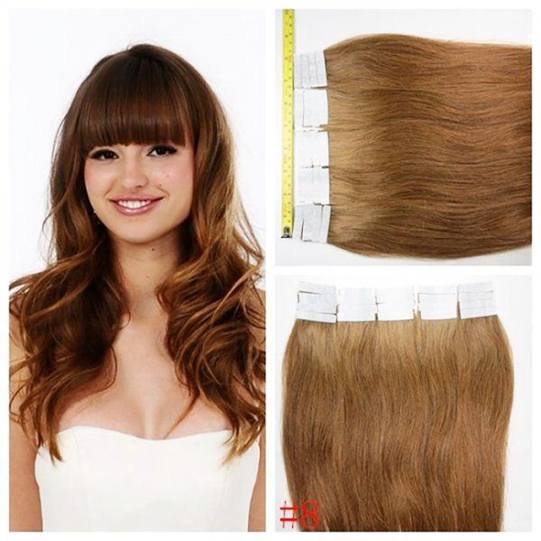 Tape in Double Drawn Light Extensions