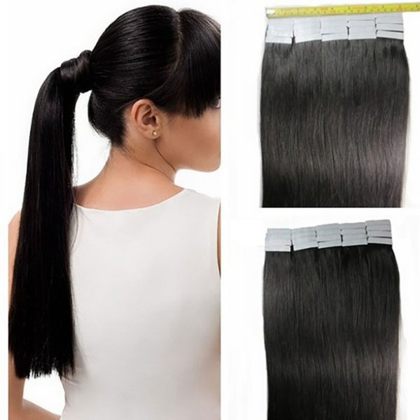 Tape In Double Drawn Natural Extensions